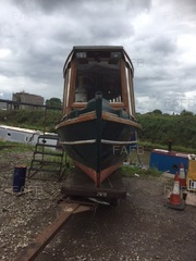 Grp life boat conversion / HOUSE BOAT