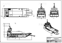 19M STEEL LANDING CRAFT