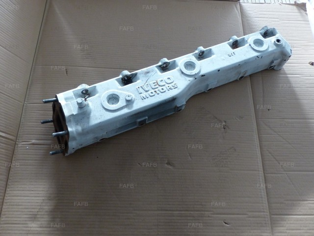 Exhaust manifold water cooled for iveco nef wales fafb