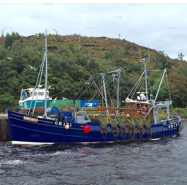 Nobles of Girven Built Wooden Trawler - picture 1