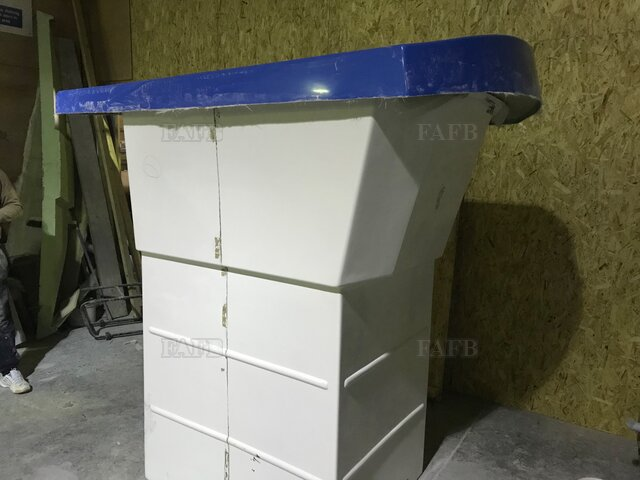 VARIOUS GRP BOAT PARTS MOULDINGS - picture 1