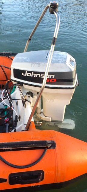 Johnson 50 2- Stroke Outboard (Est. 200 Hours) - picture 1