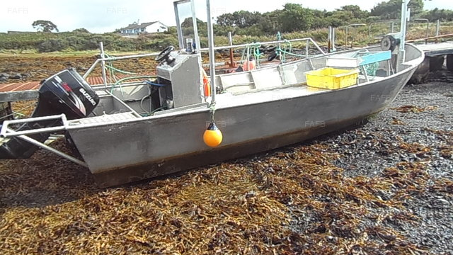 21 ft Aluminium Voe boat - picture 1
