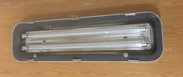 Aaa led stainless steel deck lights twin tube included £120 - picture 1