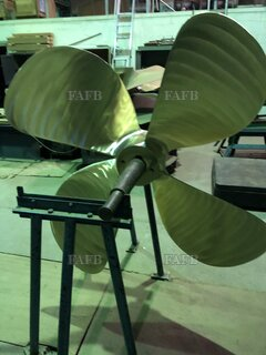 60 inch diameter 4 blade right hand New propeller in stock - ID:75270