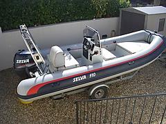SELVA 510 50hp Four strok - Inflatable Boat - ID:42783