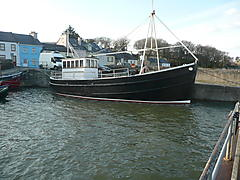 wooden trawler - Ros beithe - ID:53209