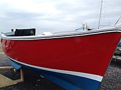Channel Island 18' Fishing work boat - Numero Uno - ID:63413