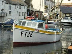 Pearns boatbuilders of Looe carvel larch on oak - Ocean queen fy26 - ID:84811