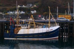 Nobles of Fraserburgh Wooden Trawler - Independence - ID:94345
