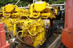 Caterpillar D398 marine engines with gearboxes - ID:71562