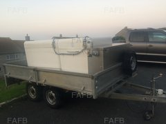 live Fish/shellfish transport trailer - ID:90289