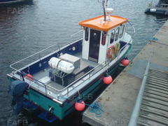 angling boat - irish dancer  - ID:70881