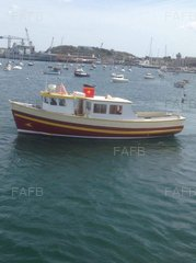 Curtis and Pape passenger boat - Queen of helford - ID:78197