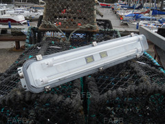 TWIN 600mm IP 67 STAINLESS STEEL MARINE LED LIGHTS - ID:78908