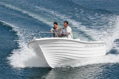Pescador 550 Open with console and seat unit Fibramar GRP Simulated Clinker -  PESCADOR 550  - ID:34409