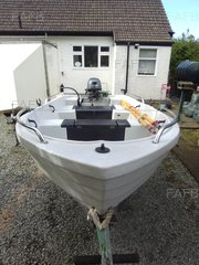 Pioner Maxi Boat, Yamaha 15hp, Indespension Trailer - Fogn - ID:89807