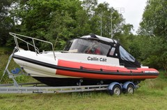 Redbay Stormforce 7.4 Cabin Rib 2008 with trailer - Cailin Cait - ID:80222