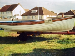 16 ft clinker built boat on road trailer - 16 ft Clinker  - ID:74980