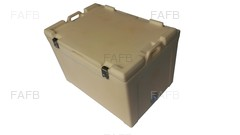 100 Ltr Hinged lid Insulated Fishtubs - ID:64347