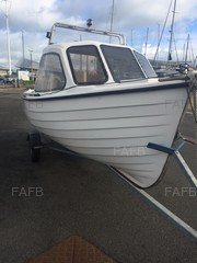 17ft cuddy boat - fisher  - ID:75095